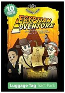Luggage Tag Tract (Pack 10) (Egyptian Adventure Series) Booklet