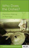 Who Does the Dishes? (Marriage Mini Books Series) Booklet
