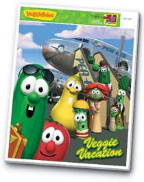 Veggie Tales Inlaid Puzzle: Veggie Vacation (24 Pieces)