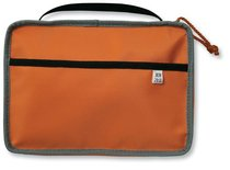 Bible Cover Reversible Orange/Grey Medium