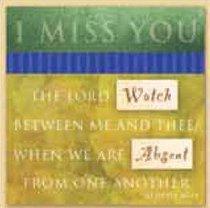 Celebrate Life Easled Magnet: I Miss You
