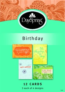 Boxed Cards Birthday: Fresh Patterns