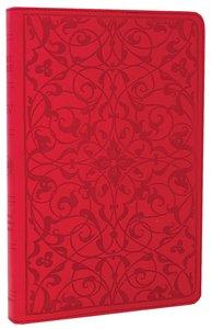 ESV Thinline Bible Wild Rose Floral Design (Red Letter Edition)