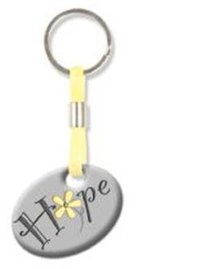 Pebble Keyring: Hope Flower