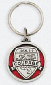 Keyring: Medals of Hope: Courage (Lead Free Pewter)