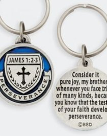 Keyring: Medals of Hope: Perseverance (Lead Free Pewter)