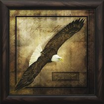 Framed Art Print: Wings Like Eagles