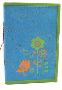 Large Journal Dream Blue/Green (Empowering The Poor Series)