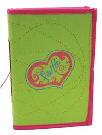 Large Journal Faith Green/Pink (Empowering The Poor Series)