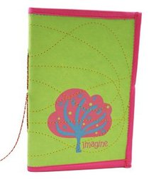 Large Journal Imagine Green/Pink (Empowering The Poor Series)