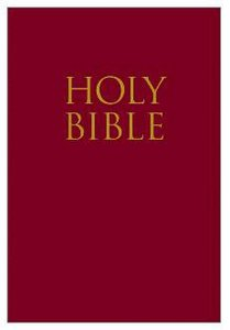 KJV Teeny Tiny Bible Leather-Look Red