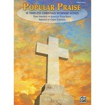 Popular Praise Easy Piano (Music Book)