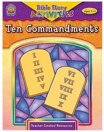 Ten Commandments (Bible Stories & Activities Series)