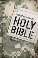 NLT Operation Worship Bible Army Edition Paperback