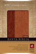 Ntv: Santa Bibica Referencia Ultrfina Brown/Tan (Slimline) Imitation Leather