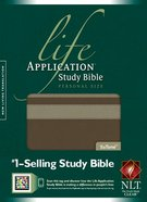 NLT Life Application Study Bible Personal Size Taupe/Stone (Black Letter Edition)