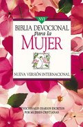 Nvi Devocional Para La Mujer Spanish Women's Devotional Bible