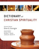 Dictionary of Christian Spirituality Hardback