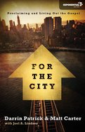 For the City (Exponential Series) Paperback