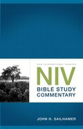 NIV Bible Study Commentary Paperback