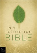 NIV Giant Print Reference Bible Indexed (Red Letter Edition) Hardback