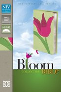 NIV Compact Thinline Bloom Bible Tulip (Red Letter Edition)