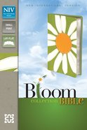 NIV Compact Thinline Bloom Bible Daisy Duo-Tone (Red Letter Edition) Imitation Leather