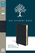 NIV Student Bible Bonded Leather Black Bonded Leather