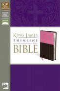 KJV Thinline Orchid/Chocolate (Red Letter Edition) Imitation Leather