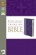 KJV Thinline Lavender (Red Letter Edition) Imitation Leather