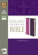 KJV Thinline Compact Dark Orchid/Deep Plum (Red Letter Edition) Imitation Leather