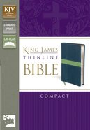 KJV Thinline Compact Midnight Blue/Moss Green (Red Letter Edition) Imitation Leather