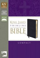 KJV Thinline Compact (Red Letter Edition) Bonded Leather