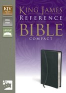 KJV Compact Reference Charcoal (Red Letter Edition)