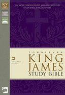 KJV Study Melon Green/Fuchsia Italian Duo-Tone (Red Letter Edition)