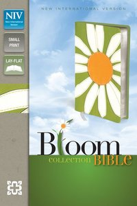 NIV Compact Thinline Bloom Bible Daisy Duo-Tone (Red Letter Edition)