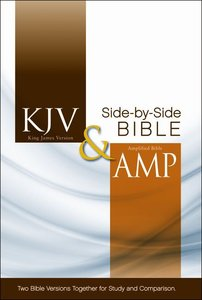 Kjv/Amplified Side-By-Side Bible (Red Letter Edition)