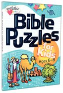 Bible Puzzles For Kids (Ages 6-8) (Heartshaper Series) Paperback