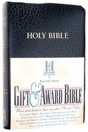 KJV Gift Award Bible Black (Red Letter Edition)