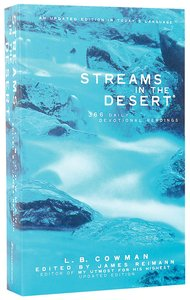 Streams in the Desert (Niv Edition)