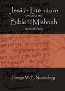 Jewish Literature Between the Bible and the Mishnah CDROM