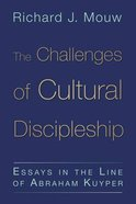 Challenges of Cultural Discipleship Paperback
