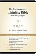 NRSV Go-Anywhere Thinline With Apocrypha Black Bonded Leather