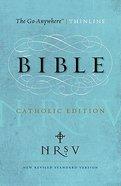 NRSV Go-Anywhere Thinline Catholic Edition Paperback