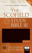 ESV Scofield Study Bible III Black Thumb-Indexed Bonded Leather