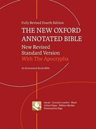 NRSV New Oxford Annotated Bible (4th Edition)
