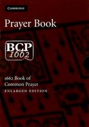 Book of Common Prayers Enlarged Black Morocco Leather (Sheepskin)