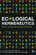 Ecological Hermeneutics Paperback