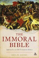 The Immoral Bible Paperback