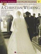 A Christian Wedding (Music Book) Paperback